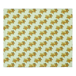 Yellow Trumpet Daffodil 4.0 Duvet Cover