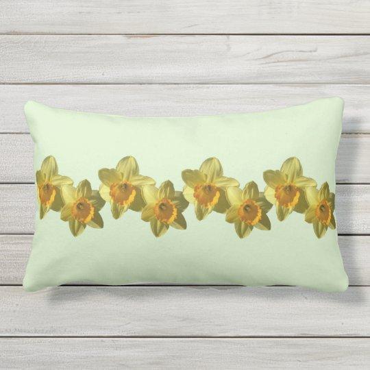 Yellow Trumpet Daffodil 4.2.2 Lumbar Pillow