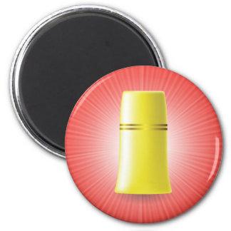 Yellow Tube Magnet