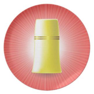 Yellow Tube Plate