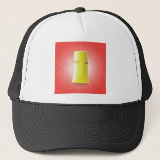 Yellow Tube Trucker Hat