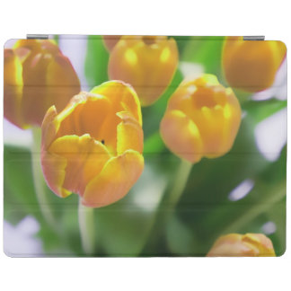 Yellow Tulip Flowers iPad Case iPad Cover