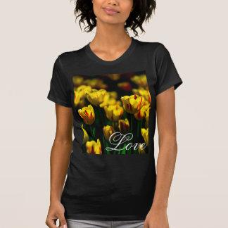 Yellow tulip flowers T-Shirt
