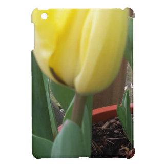 Yellow tulip iPad mini covers