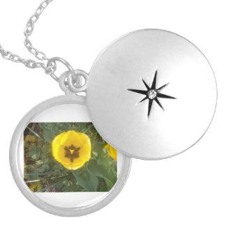 Yellow Tulip Necklace
