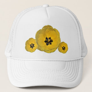 Yellow Tulip on multiple Trucker Hat
