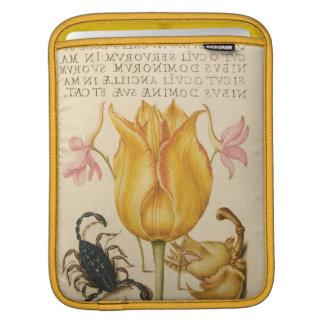 yellow tulip scorpio iPad sleeve