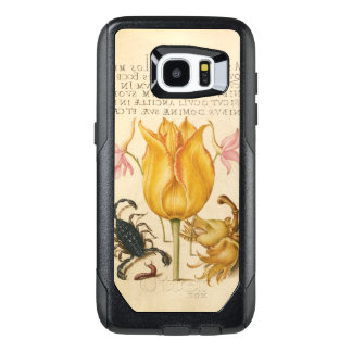 yellow tulip scorpio OtterBox samsung galaxy s7 edge case
