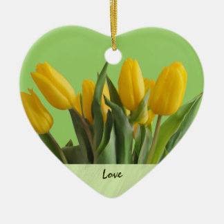 Yellow Tulips Ornament