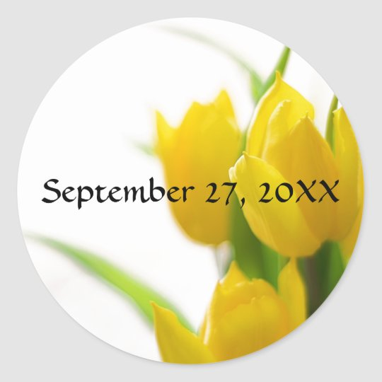 Yellow Tulips - Sticker