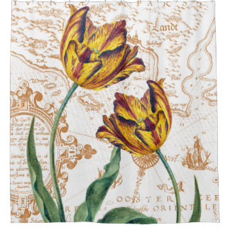 Yellow Tulips Vintage