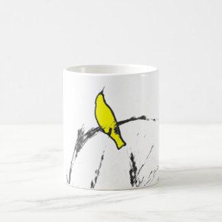 Yellow Tweet Coffee Mug
