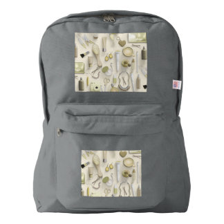 Yellow Vanity Table Backpack