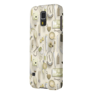 Yellow Vanity Table Galaxy S5 Cover