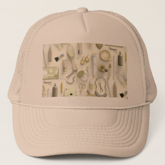 Yellow Vanity Table Trucker Hat