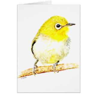 Yellow Viro Greeting Card