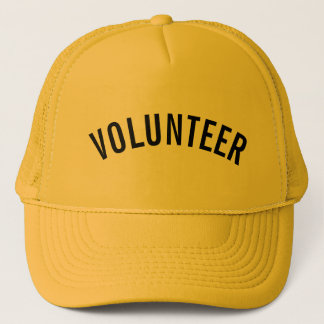 Yellow Volunteer Trucker Hat