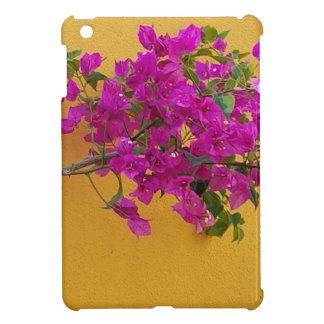 Yellow Wall Pink Flower Arch Sunshine Case For The iPad Mini