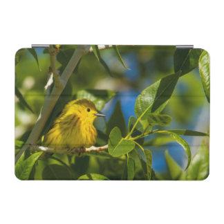 Yellow Warbler In Tree Near Augusta, Montana iPad Mini Cover