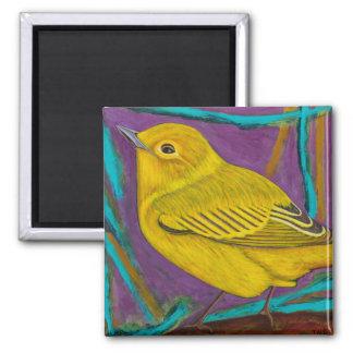 Yellow warbler magnet