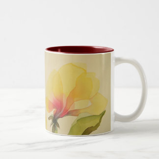 Yellow Watercolor Flower  Mug