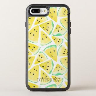 Yellow watermelon slices pattern OtterBox symmetry iPhone 8 plus/7 plus case