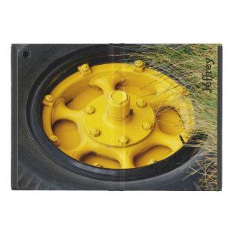 Yellow Wheel, iPad Mini Folio Case iPad Mini Covers
