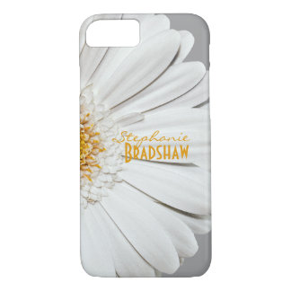 Yellow White Gerbera Daisy iPhone 8/7 Case