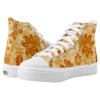 Yellow Wild Flowers Floral Shoes