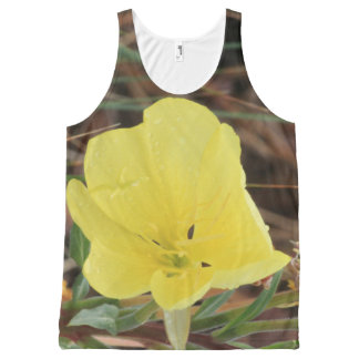 Yellow Wildflower All-Over-Print Tank Top
