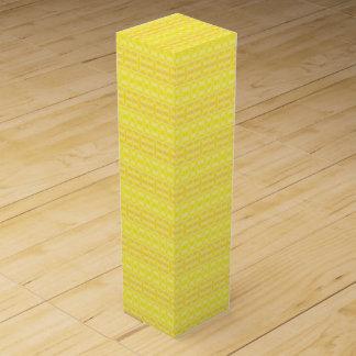 yellow wine box