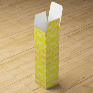 yellow wine gift box