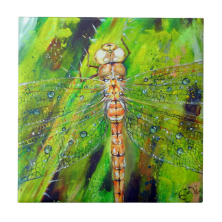 Yellow-winged Darter Tile
