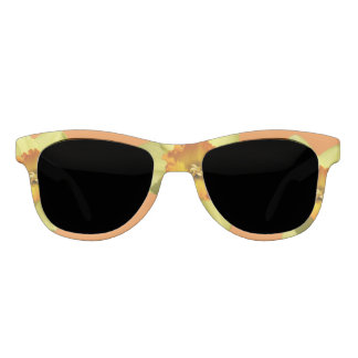 Yellow with Oranje Heart Daffodil Sunglasses