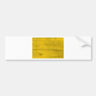 Yellow wood structure as a background texture bumper sticker