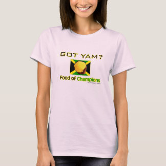 Yellow Yam Food of World's Fastest People T-Shirt