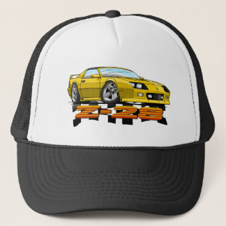 Yellow_Z28_3G Trucker Hat