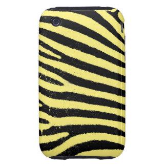 Yellow Zebra iPhone 3G/3GS Case-Mate Tough iPhone 3 Tough Cases