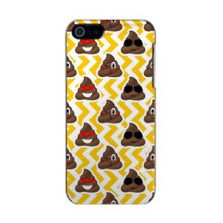 Yellow Zig Zag Poop Emojis Incipio Feather® Shine iPhone 5 Case