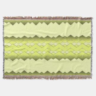 Yellow Zigzag Comfy Throw Blanket