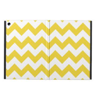 Yellow Zigzag Stripes Chevron Pattern Case For iPad Air