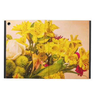 Yellowed Flowers iPad Air Cover