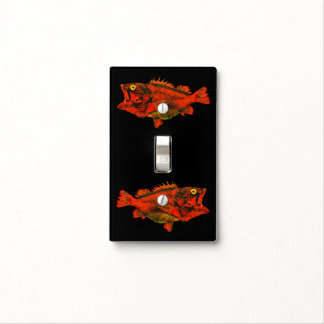 Yelloweye Rockfish - Single Light Switch Cover