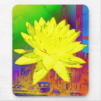 Yellowflower by Rich La Bonté Mouse Pad