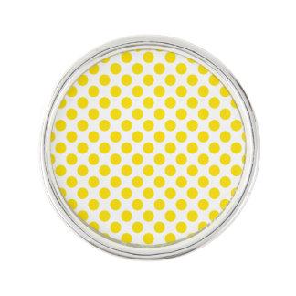 YellowPolkaDots Lapel Pin