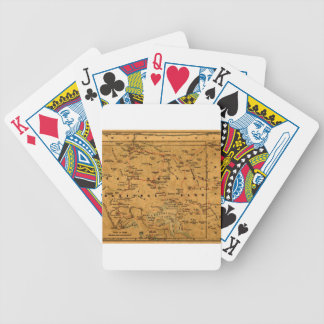 Yellowstone 1880 bicycle playing cards
