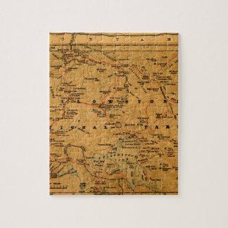 Yellowstone 1880 jigsaw puzzle