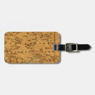 Yellowstone 1880 luggage tag