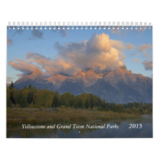 Yellowstone and Tetons Wall Calendars