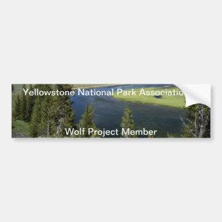 Yellowstone Bumper Sticker